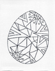 Beautiful Designs, Printable Egg Coloring Sheets, Easter
