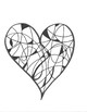 Beautiful Designs, Printable Heart Coloring Sheets, Valentine's Day