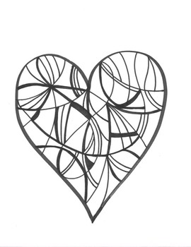 Hearts Coloring Sheet Teaching Resources | Teachers Pay Teachers