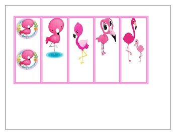 Beautiful Flamingo Bookmarks- Perfect for Valentine's Day