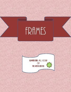 Beautiful Frames to embellish your digital products!