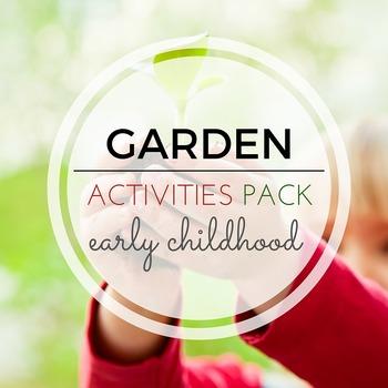Beautiful Gardening Activities Pack