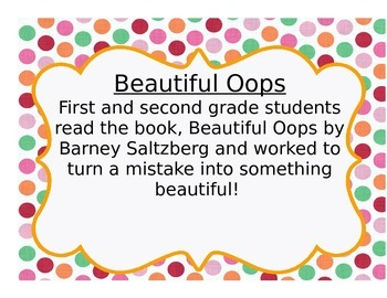 Beautiful Oops Lesson, Poster and Rubric Set