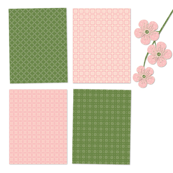 Beautiful Pink and Green - 12 Digital Papers