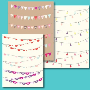 Beautiful Valentine's Day Buntings