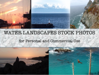 Beautiful Water Landscapes Stock Photos for Personal and Commercial Use