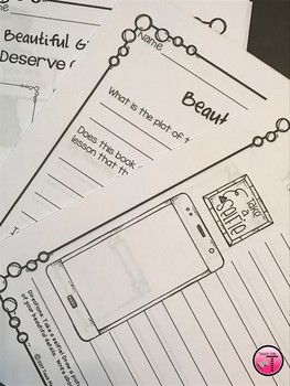 Beautiful by Stacy McAnulty Book Companion and Activities