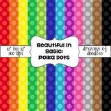 Beautiful in Basic: Polka Dots Digital Paper Pack