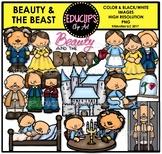 Beauty And The Beast Clip Art Bundle {Educlips Clipart}