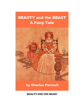 Beauty and the Beast - A Fairy Tale