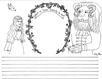 Beauty and the Beast Activity Sheet