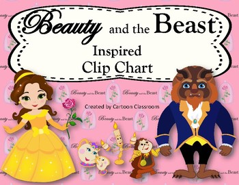 Beauty and the Beast Inspired Behavior Clip Chart