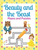 Beauty and the Beast Mazes and Puzzles - Early Finishers, Fun Stuff, Games