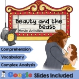 Beauty and the Beast 2017 Movie Activities  Google Classroom   Distance Learning