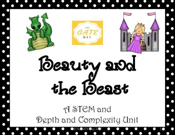 Beauty and the Beast STEM and Depth and Complexity