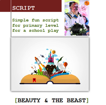 Beauty and the Beast Script for Primary School ESL/EFL Play