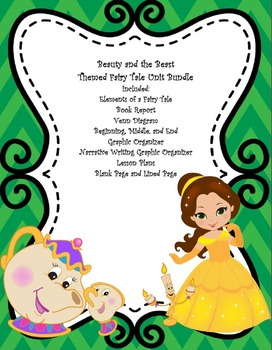 Beauty and the Beast Themed Fairy Tale Unit Bundle