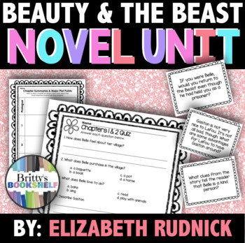 Beauty and the Beast by Elizabeth Rudnick - Novel & Literature Unit