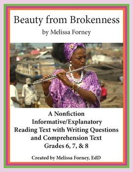 Nonfiction Reading Passage & Questions for Grades 6 - 8