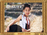 Beauty is - ESL adult and kid conversation
