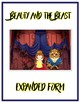 Beauty & the Beast Expanded Form Math File Folder Game Place Value Tens & Ones