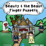 Beauty & the Beast Finger Puppets
