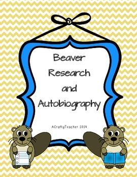 Beaver Booklet Freebie