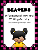 Beavers: Informational Text and Writing Activity