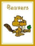 Beavers Thematic Unit
