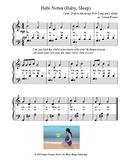 Bebi Notsa (Baby Sleep) (piano/vocal)