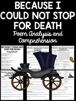 Because I Could Not Stop For Death Poem, Emily Dickinson, Analysis, Questions
