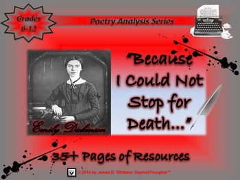 Because I Could Not Stop for Death by Emily Dickinson Poem Analysis