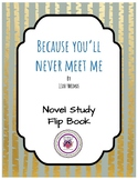 Because You'll Never Meet Me - Novel Study Flip Book