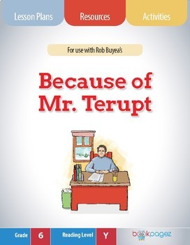 Because of Mr. Terupt Lesson Plan (Book Club Format - Making Inferences)