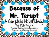 Because of Mr. Terupt - A Complete Novel Study!