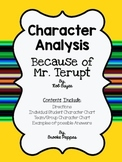 Because of Mr. Terupt Character Study