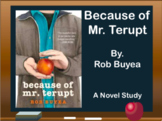 Because of Mr. Terupt Novel Study