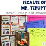 Because of Mr. Terupt Novel Study Activities