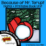 Because of Mr. Terupt Novel Study: vocabulary, comprehension, writing, skills