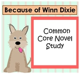 Because of Winn Dixie 3rd Grade Common Core Chapters 1-3 Quiz