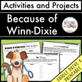 Because of Winn-Dixie: Reading Response Activities and Projects