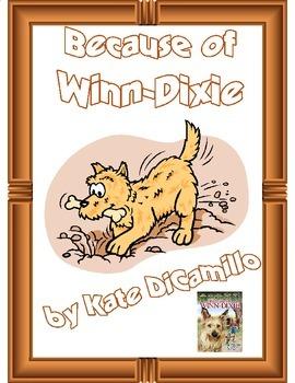 Because of Winn-Dixie Binder Cover
