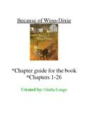 Because of Winn Dixie Book Guide