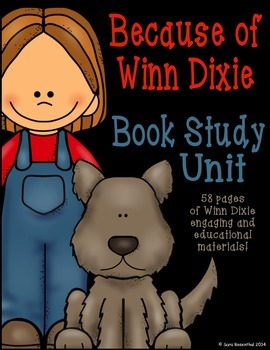 Because of Winn Dixie Book Study