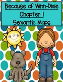 Because of Winn-Dixie Chapter 1 Semantic Maps