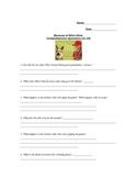 Because of Winn Dixie Chapters 11-16 Quiz/Vocab Activities