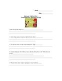Because of Winn Dixie Chapters 17-20 Quiz/Vocab Activities