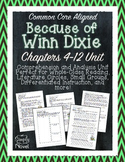 Because of Winn-Dixie Chapters 4-12 Questions, Quizzes, Novel Study Unit
