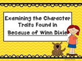 Because of Winn Dixie Character Traits