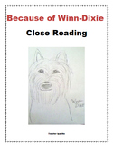 Because of Winn-Dixie Close Reading Questions and Answers